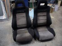 HONDA CRX MK2 FRONT SEATS