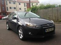 2013 FORD FOCUS 1.6 TDCI ECONETIC ZETEC 9MNTHS MOT 90K FSH 1PREV OWNER GREAT DRIVE ONLY £3995