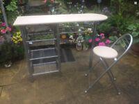 Breakfast bar and stool