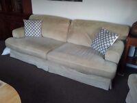 Ikea ekeskog sofa and armchair