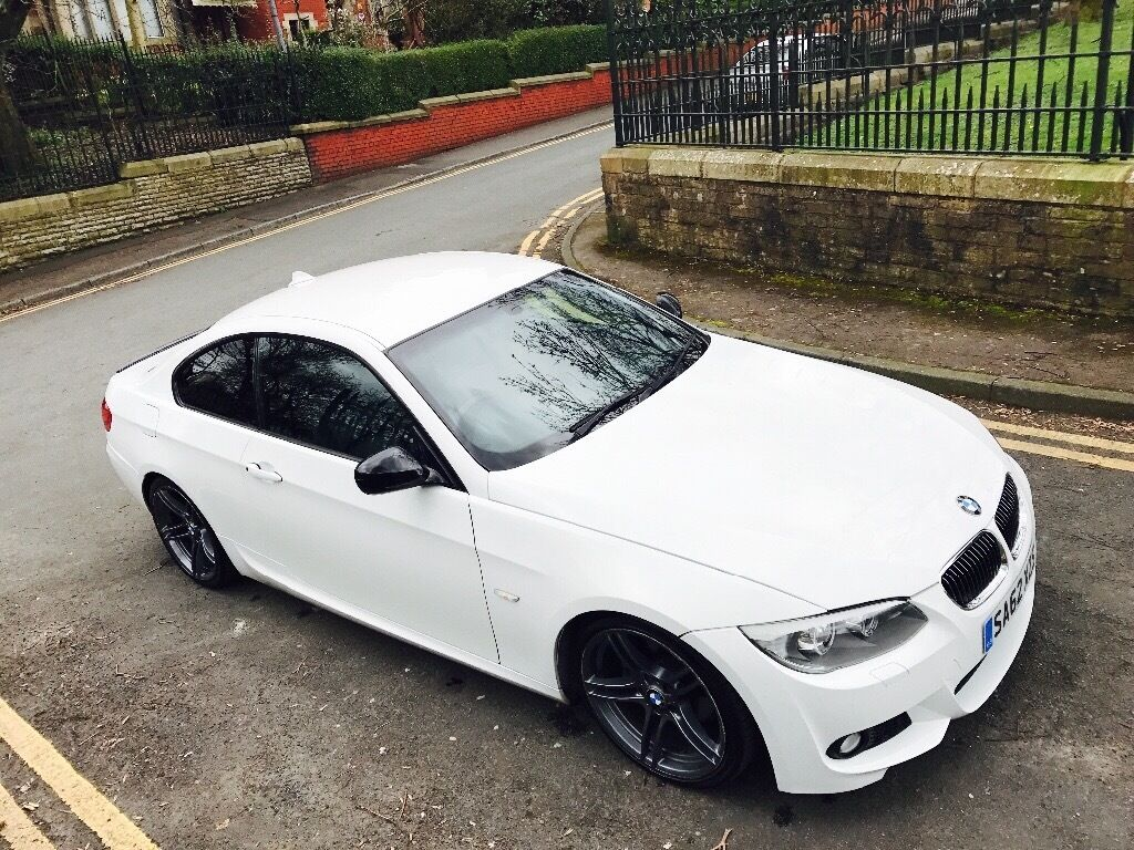 bmw 3 series 320d m sports 2012 62 2dr coupe white 2 0. Black Bedroom Furniture Sets. Home Design Ideas