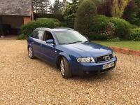 Audi A4 Avant Estate 2.4 V6 Denim Blue Full Leather