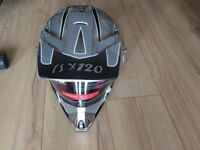 Motocross/adventure motorbike helmet, new with tags, size small, Viper