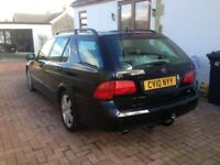 SAAB 9-5 TURBO EDITION TID 1.9 1 OWNER FULL HISTORY TIMING BELT FITTED AT 100K NEW DMF FULL LEATHER