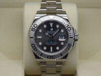 Rolex Yacht Master Rhodium Dial SW2836