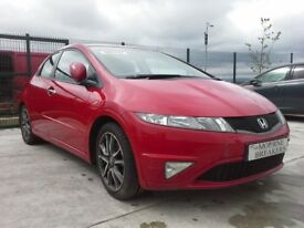 **For breaking** Honda Civic Si 2.3 diesel, 6 speed (2010).