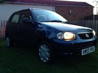Suzuki Alto GL £3633 in Receipts 1 owner from new