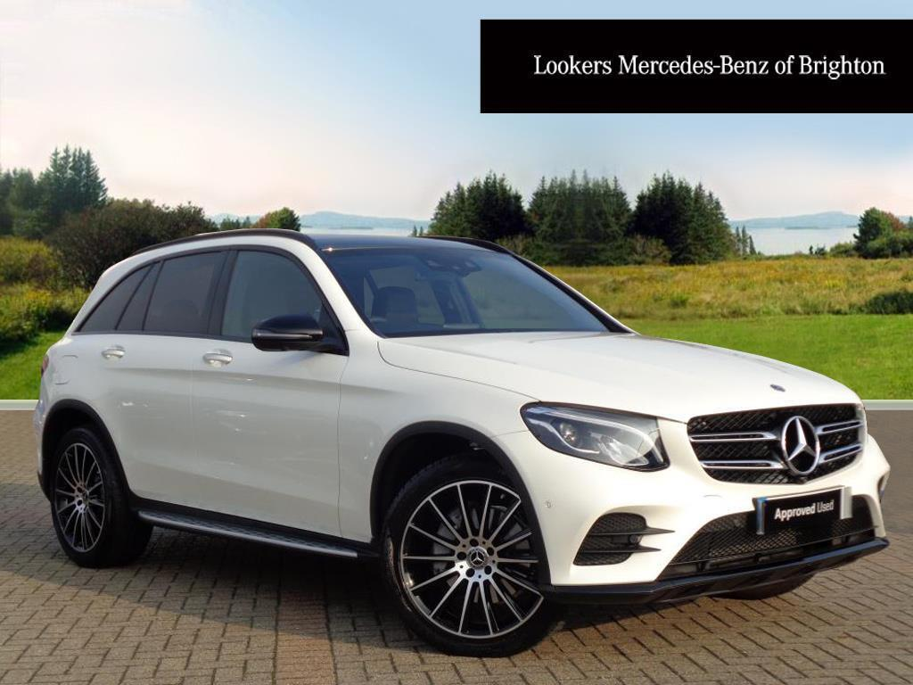 mercedes benz glc class glc 220 d 4matic amg line premium white 2017 09 19 in portslade. Black Bedroom Furniture Sets. Home Design Ideas