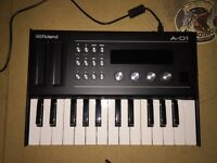 Roland A-01K synthesizer/controller with keyboard
