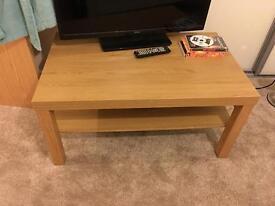 Ikea Oak effect coffee table