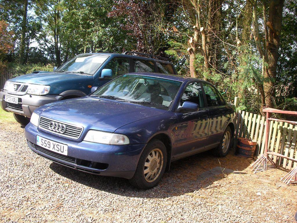 1998 Audi A4 19 Tdi 110bhp 55 Mpg Saloon Blue Mot Apr