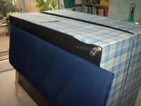 double divan base + headboard(includes delivery hull)