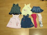 Bundle of baby girl clothes size 3-6 months