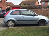 Ford Fiesta - spare and repairs.