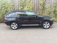 BMW X5 + 3.0D SPORT + 2006 + SATNAV + T.V + FULL SERVICE HISTORY