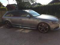 Audi A4 avant garde estate s line black edition