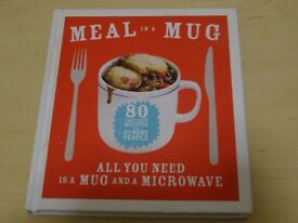 Meal in a Mug - Recipe Book – Hardback