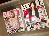 Vogue Magazines worth over £200