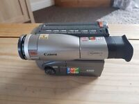 Canon 8mm tape camcorde