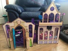 Monster High play sets collection only