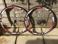 Kinetic One Alloy Aero Wheelset - with tyres and cassette