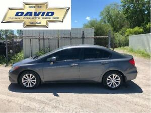 2012 Honda Civic EX 4DR/ LOADED/ SUNROOF/ KEYLESS/ LOCAL TRD