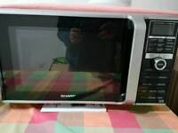 Sharp R890SLM 26L 900W Combi Microwave with Double Grill