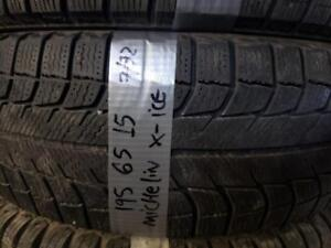 1 winter tire Michelin x ice 195/65r15