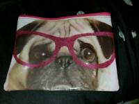 Pug bag for make up etc