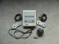 SNES console. Full working order.