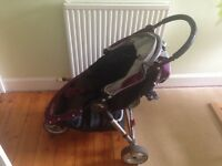 Baby Jogger City Mini Buggy with Footmuff and Rain Cover