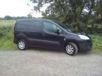 PEUGEOT PARTNER PROFESSIONAL 850 BLACK !! NO VAT !!