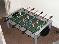 table top football game (needs ball)