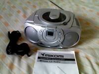 Mikomi Portable CD Radio Player