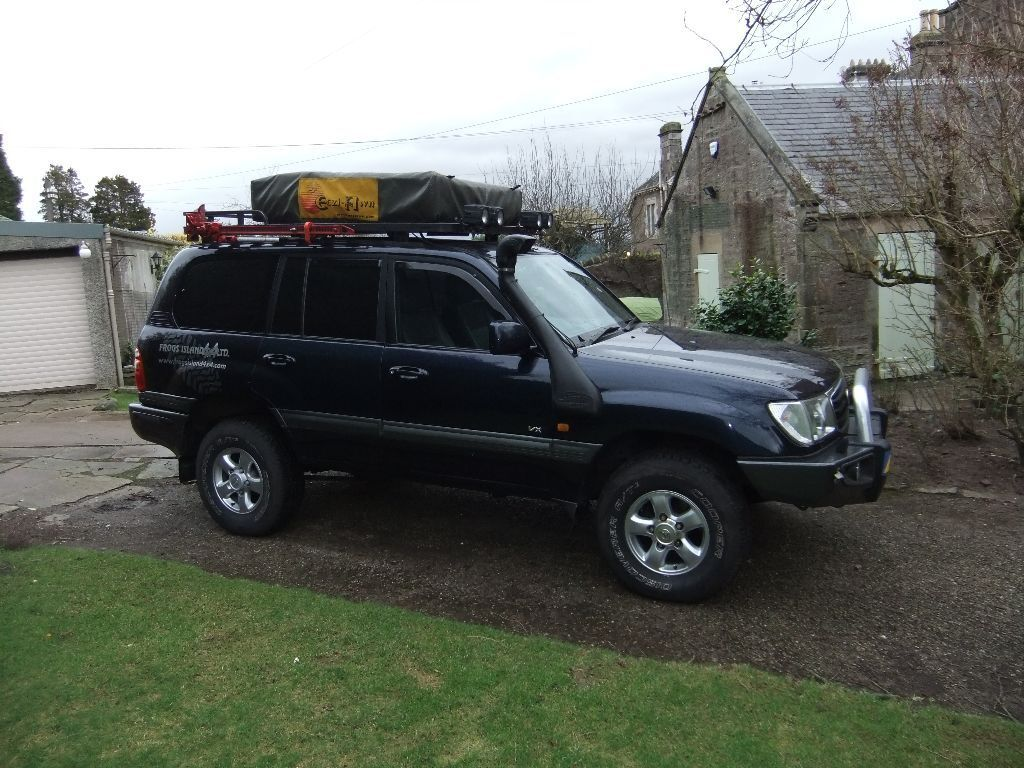 Fully Kitted Out Overland Expedition Prepared Land