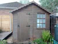 8x8 wooden shed - great condition