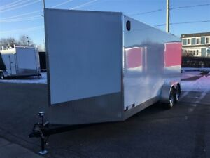 2018 Canadian Trailer Company 7X18 V-Nose Cargo Trailer