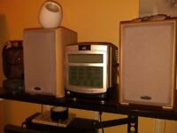 Emerson mini stereo with Eltax speakers