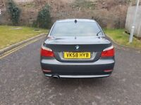 2008 BMW 5 Series 2.0 520d SE 4dr Manual @07445775115 12 Months Warranty Included