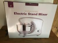 Brand new and boxed Andrew James 5.5ltr stand mixer