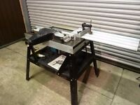 Router Table with Makita Router & 110v Transformer