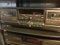 Technics rs474 mk2 double tape deck
