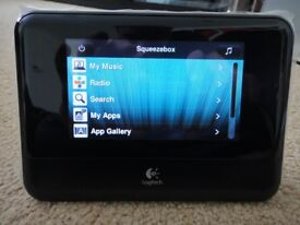 Logitech Squeezebox Touch Wifi Network Media Player - as New Condition
