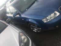 2002 (diesel) Audi A4 tdi saloon