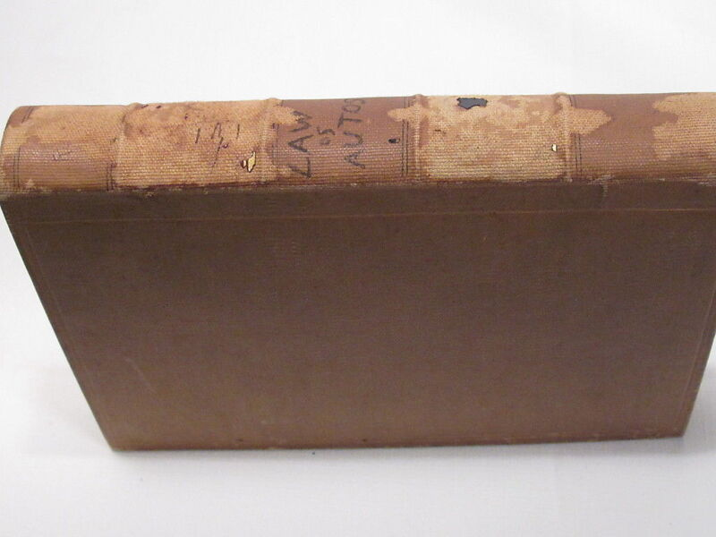 1928 Alabama AUTOMOBILE LAWS; early book on Alabama truck & auto car rules law