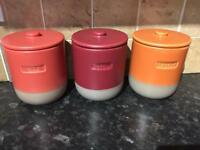 NEXT - TEA COFFEE AND SUGAR CANISTERS