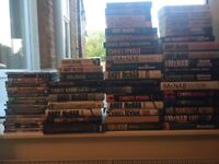 Large selection of books, good condition. Mainly hardbacks. Perfect for avid reader or car booter