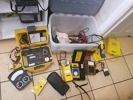 Pat testing equipment