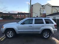 Jeep Grand Cherokee 3.0 CRD LTD, 2005, clean solid cheapest in uk.