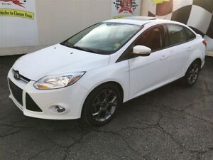 2013 Ford Focus SE, Automatic, Leather, Sunroof,